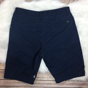 Men's Volcom Chino Cargo Shorts Navy Size 32